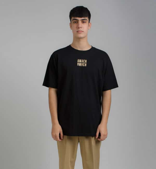 amach 02-Black-Oversized-Symmetry-Tee