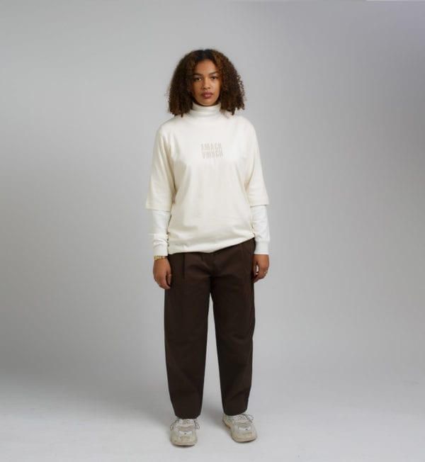amach 04 Raw Relaxed Fit Symmetry Te
