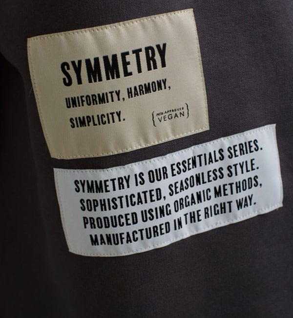 AMACH 06-Antracite-Symmetry-Hoodie